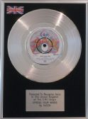 "QUEEN - 7"" Platinum Disc -  SPREAD YOUR WINGS"